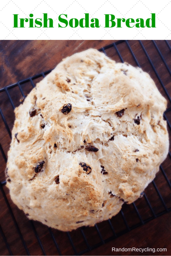 Delicious Irish Soda Bread for Saint Patrick's Day