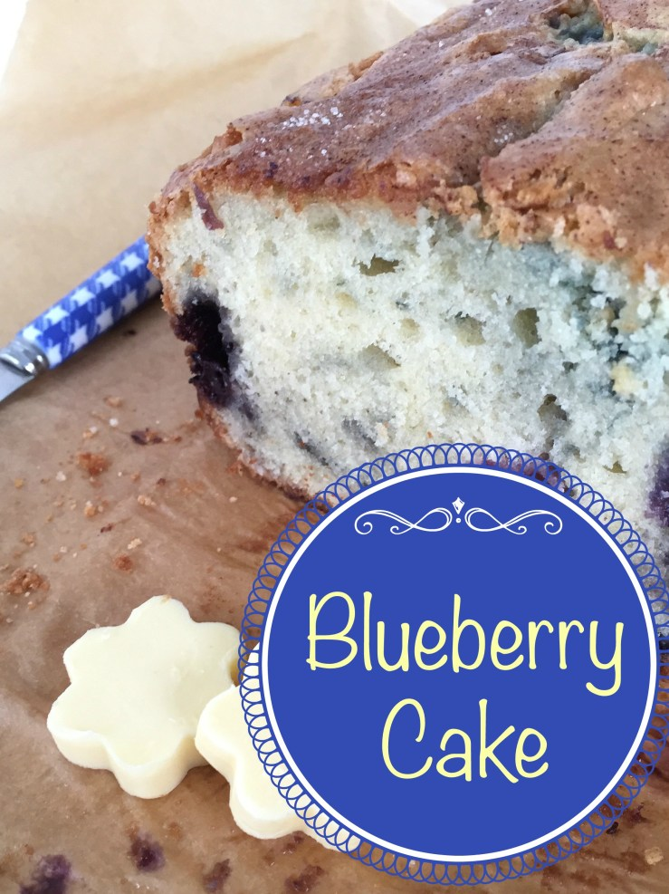 Easy Blueberry Bread quick bread for Mother's Day brunch!