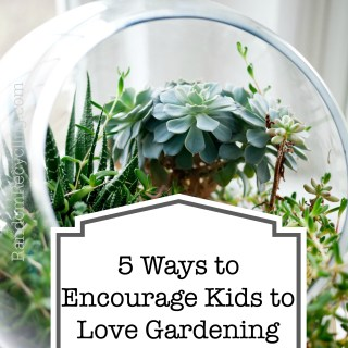 5 Tips to Inspire Children to Love Gardening