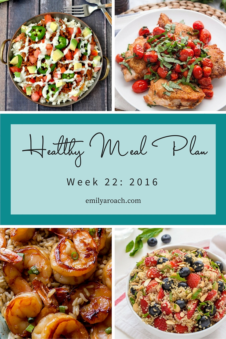 Healthy Meal plan recipes to help you make your meal plan