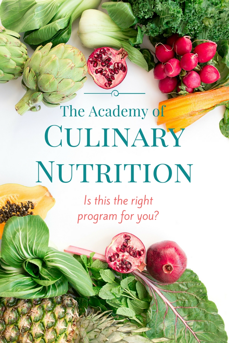 Are you looking for a nutrition program that teaches you how to prepare real food? The Academy of Culinary Nutrition is for you.http://emilyaroach.com/a-look-back-at-the-academy-of-culinary-nutrition/