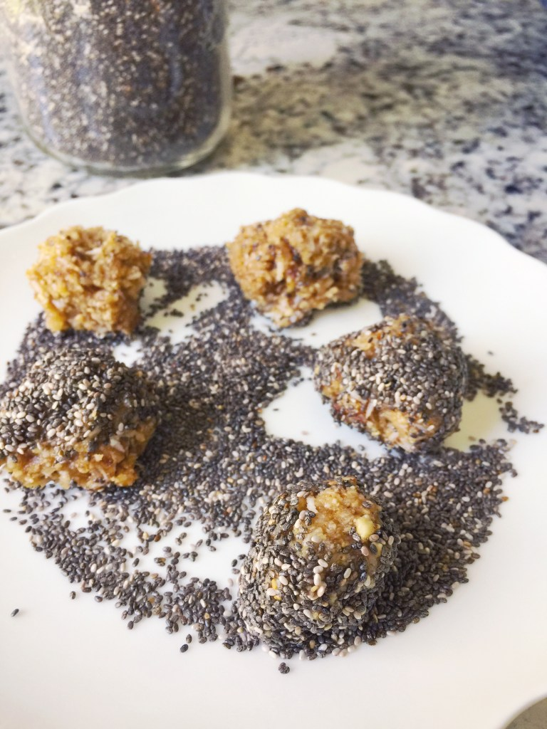 Lemon cashew coconut energy ball recipe