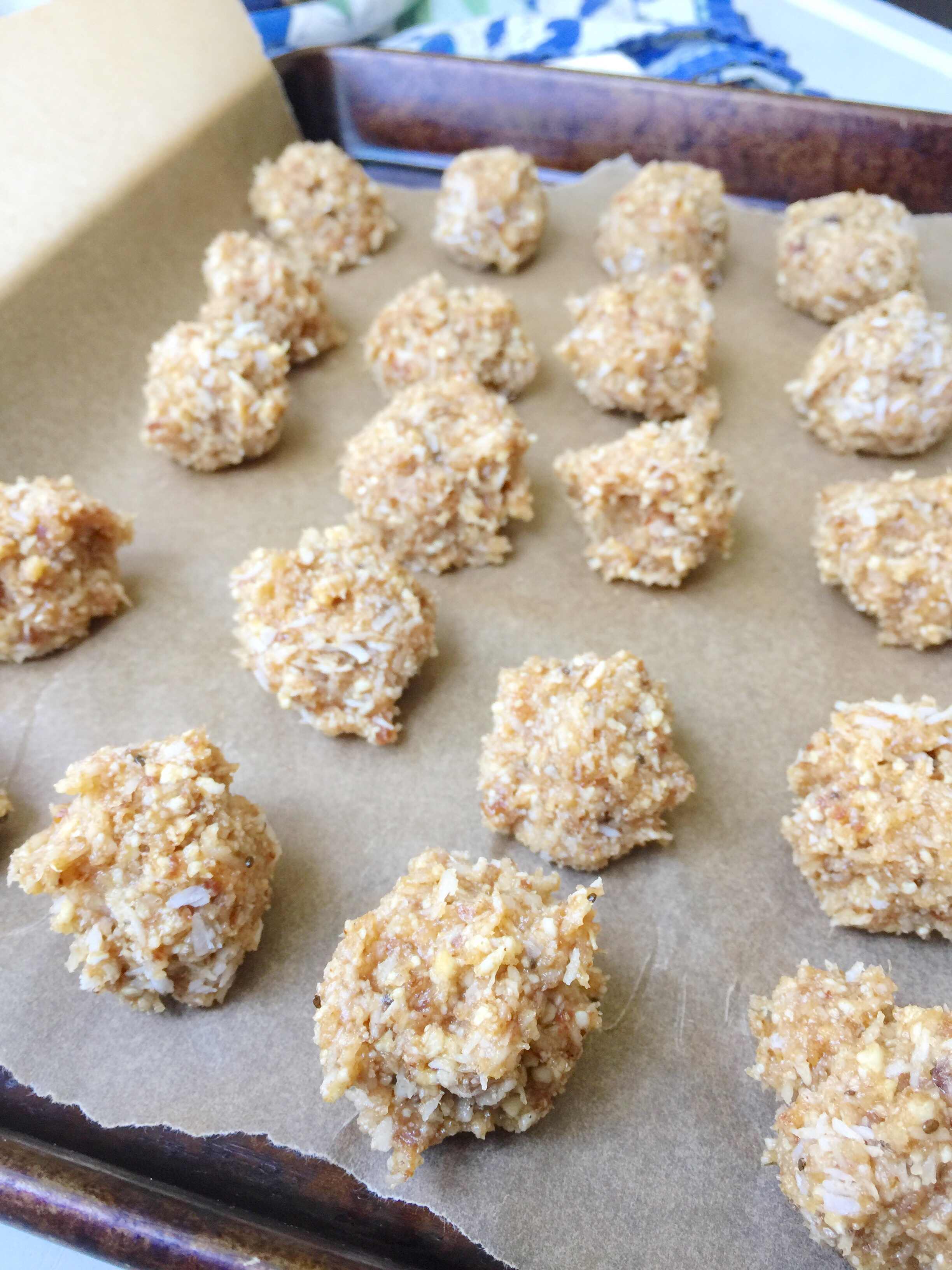 These are our favorite energy ball recipe! Lemon Cashew Coconut energy balls are so easy to make at home.