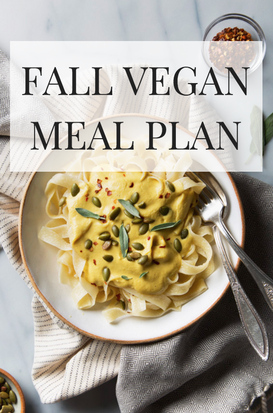 If you need some new ideas for your vegan meal plan, look no further. Check out this round up of favorite vegan recipes for fall.