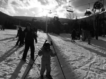 Hunter Mountain makes it easy for families to ski and have fun together.