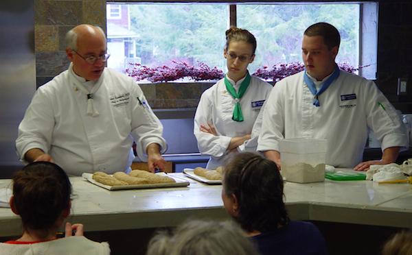 Peter Reinhart teaching