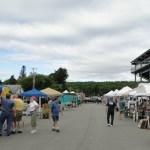Maine Bread Fest during setup