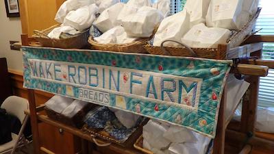 Wake Robin Farm's banner