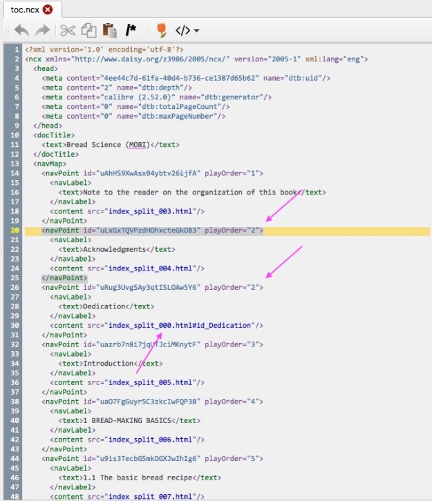 """html code containing a list in which the number """"2"""" repeats"""