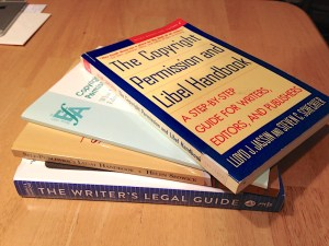 stack of books mentioned in the text