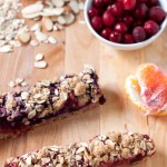 Berry-Orange Fruity Oaty Bars