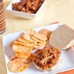 Easy Barbecue Pulled Chicken Sandwiches