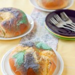 Lemon and Cream Cheese-filled King Cakes