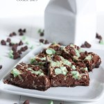 Mint Chocolate Double Delicious Cookie Bars