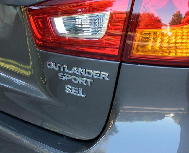 2017 Mitsubishi Outlander Sport SEL