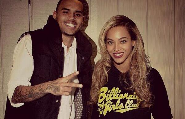 Chris Brown and Beyonce