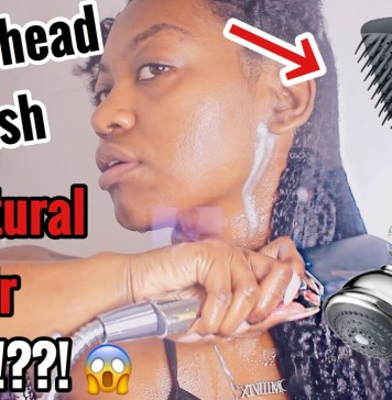 Conair Shower head brush