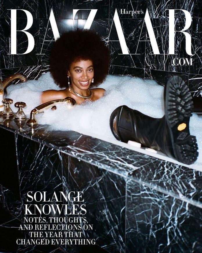 Solange Knowles for Harper's BAZAAR