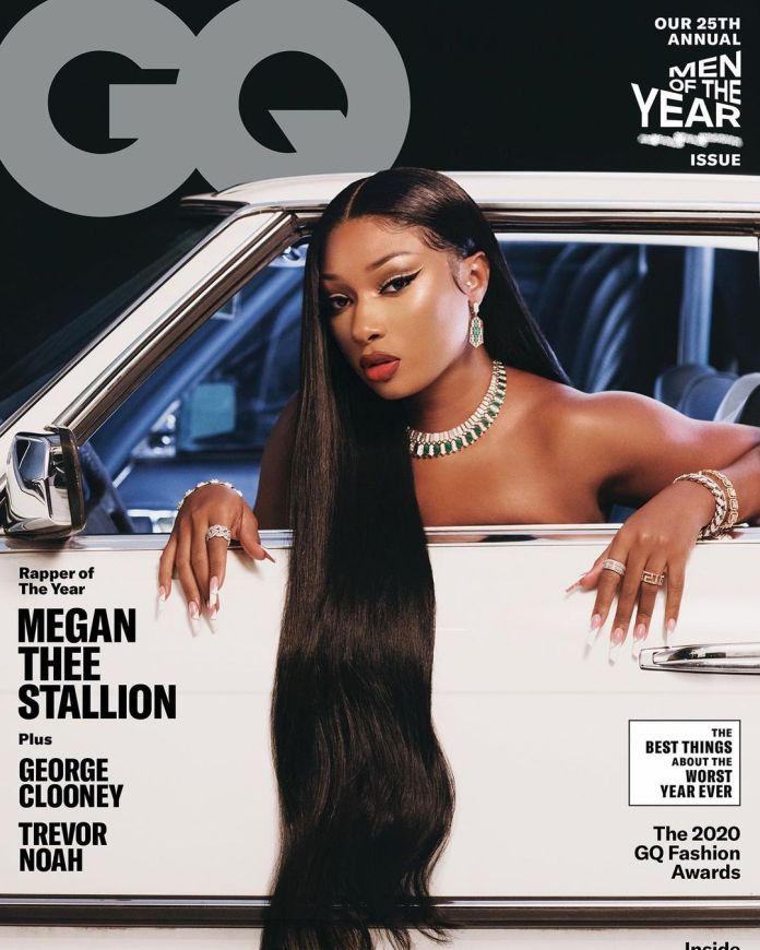 Megan Thee Stallion GQ Cover