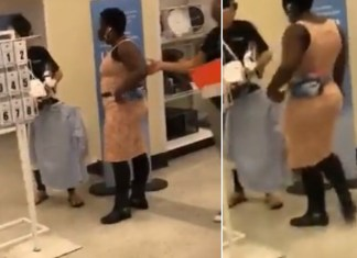 """Watch A Black Woman Defend A Ross Store Employee Against Karen - """"I Came For You"""""""