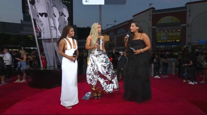 Halle Bailey Stuns At The 2021 MTV VMAs