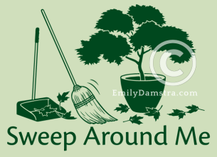 Sweep Around Me – Emily S. Damstra