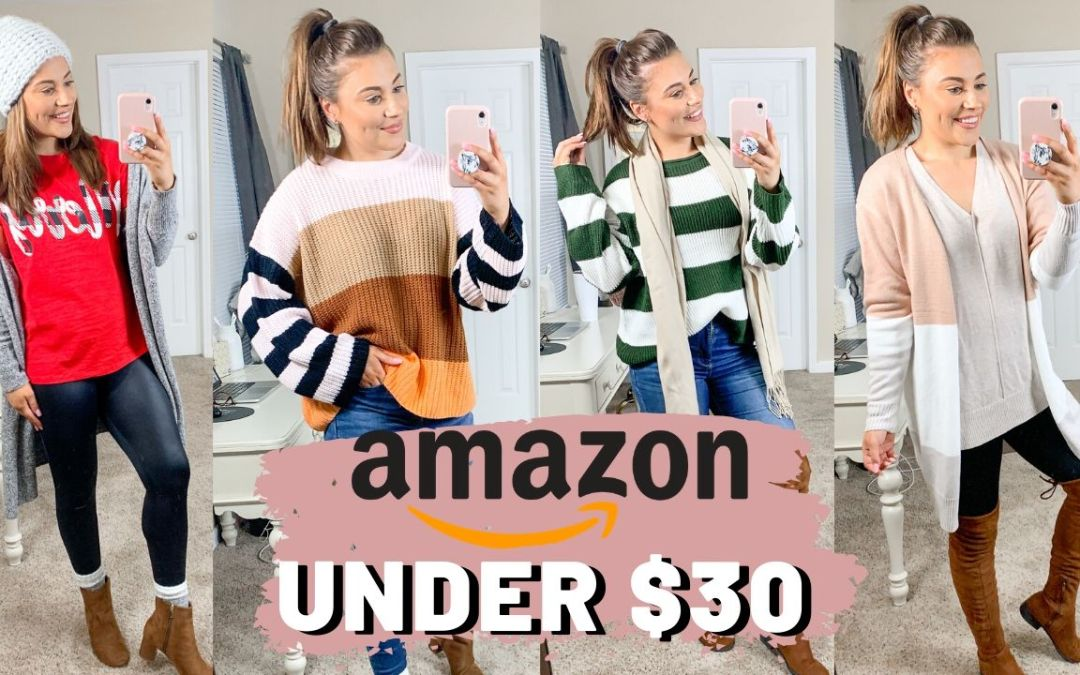 HUGE FALL/WINTER AMAZON TRY ON CLOTHING HAUL 2019