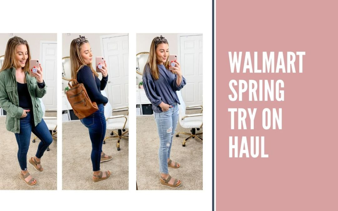 walmart spring try on haul