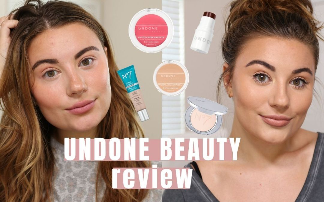 UNDONE MAKEUP REVIEW & FIRST IMPRESSIONS