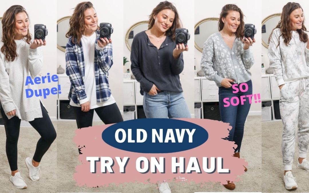 OLD NAVY FALL TRY ON HAUL 2020
