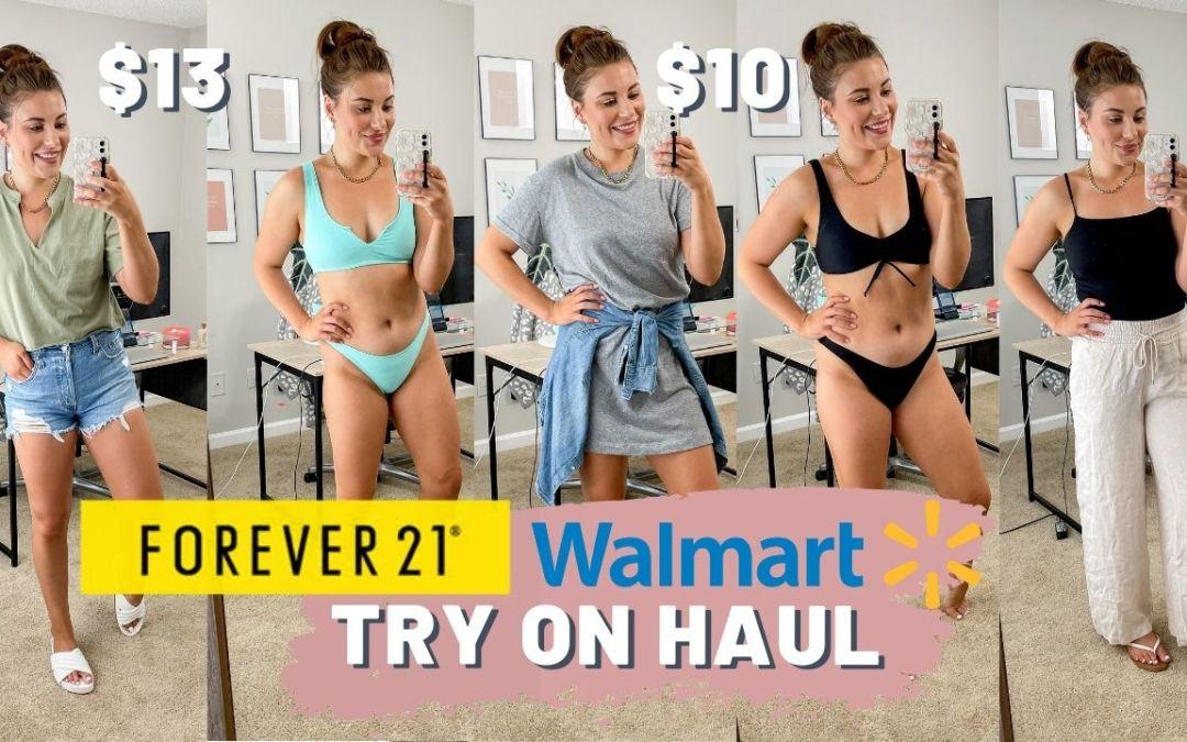 WALMART & FOREVER 21 SUMMER TRY ON HAUL