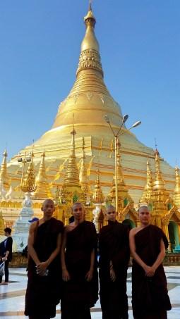 The Schwedagon Pagoda, Yangon, Myanmar (Burma)