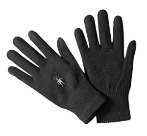 smartwool wool liner gloves for cold weather running