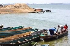 Ggaba at Lake Victoria.