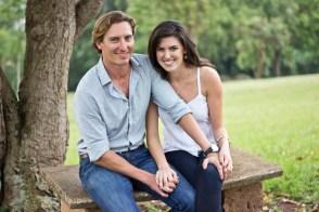 Nick & Katie's Engagement, Baha'i Temple Grounds, Uganda