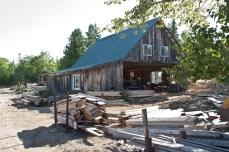 The sawmill.