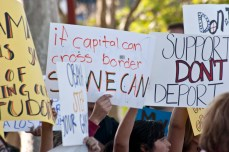 In 2009, Immigration raided San Diego trolleys asking for proof of citizenship, and deported several students. The students were later allowed to return, but the actions of immigration were met with anger and protests from families, teachers, and friends.