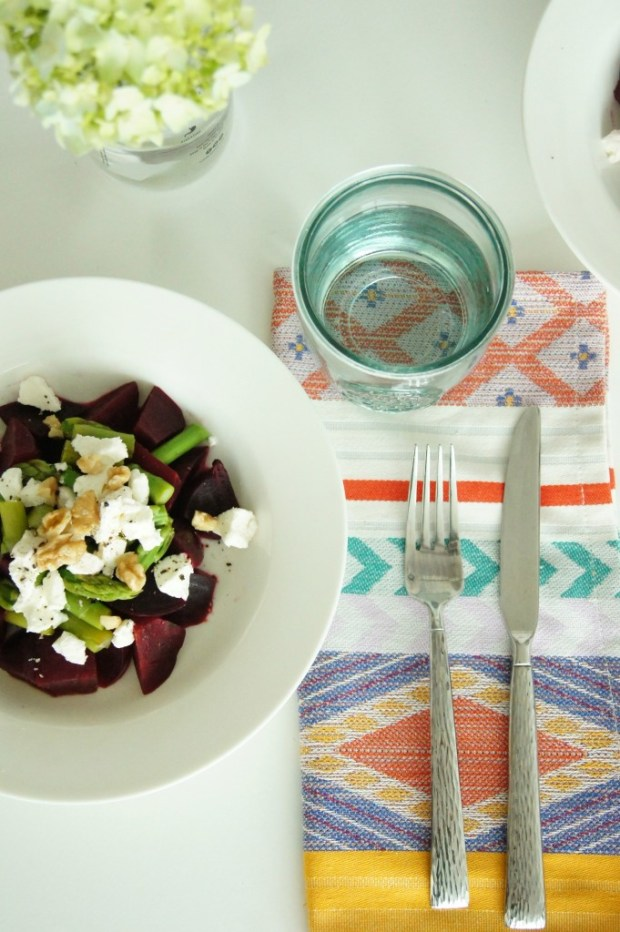 Beet Asparagus Salad