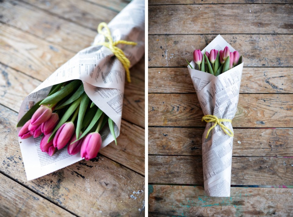 How To Wrap Flowers to Make the Perfect Gift