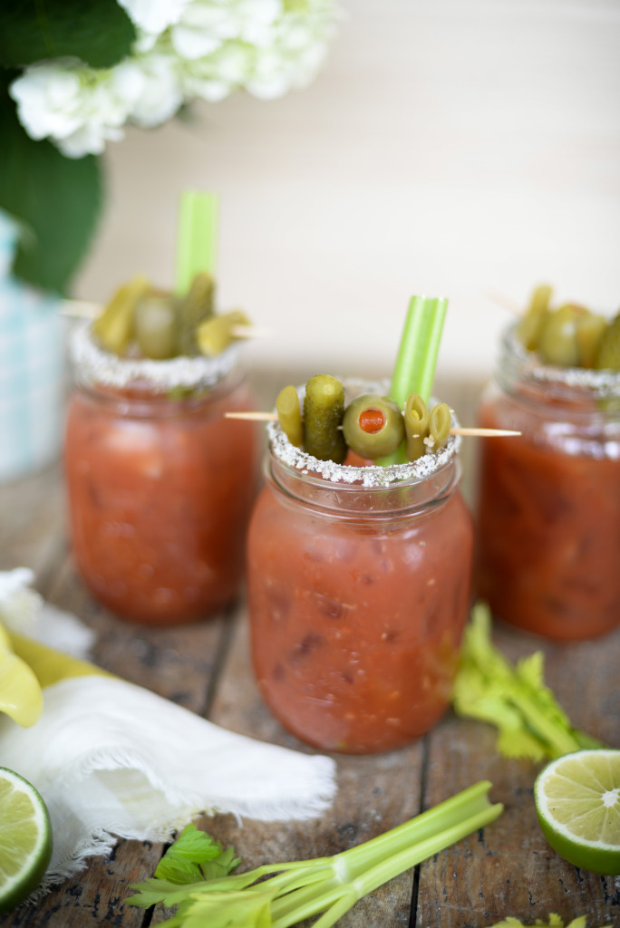 Spicy Caesar Recipe with horseradish
