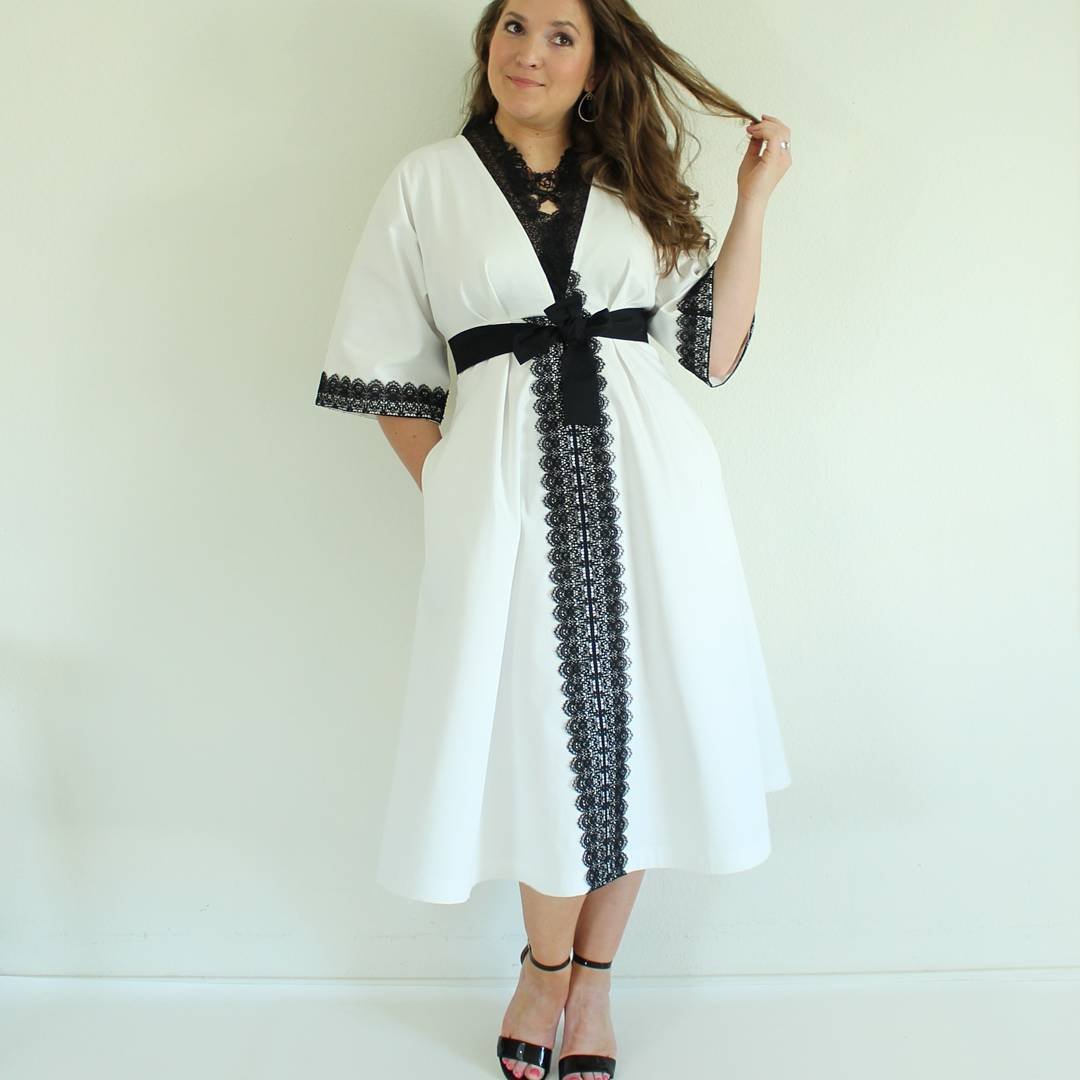 Black and white and lace all over On the bloghellip