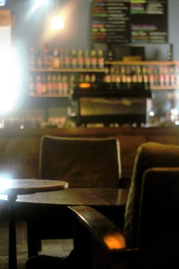 Kaya Coffee House offers its customers a relaxing setting with ample, comfortable seating.
