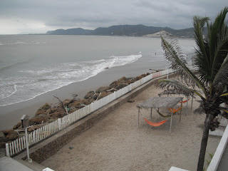 View from Bahía hotel room