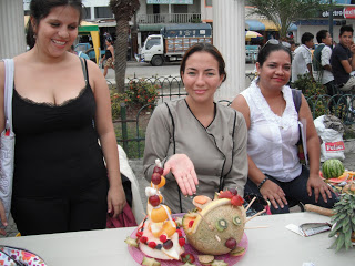 Pedernales food decoration competition