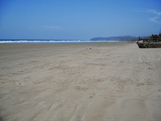 Beach in San Jose, Santa Elena, Ecuador
