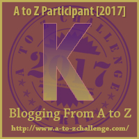 2017 A to Z Challenge - K