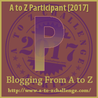 2017 A to Z Challenge - P