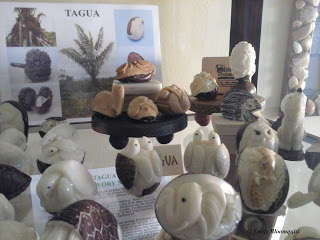 Hand carved tagua