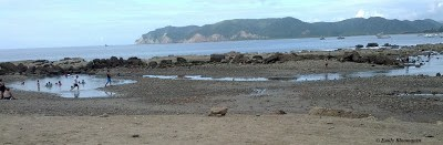 Tide pools - south end of Puerto Lopez beach