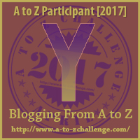 2017 A to Z Challenge - Y